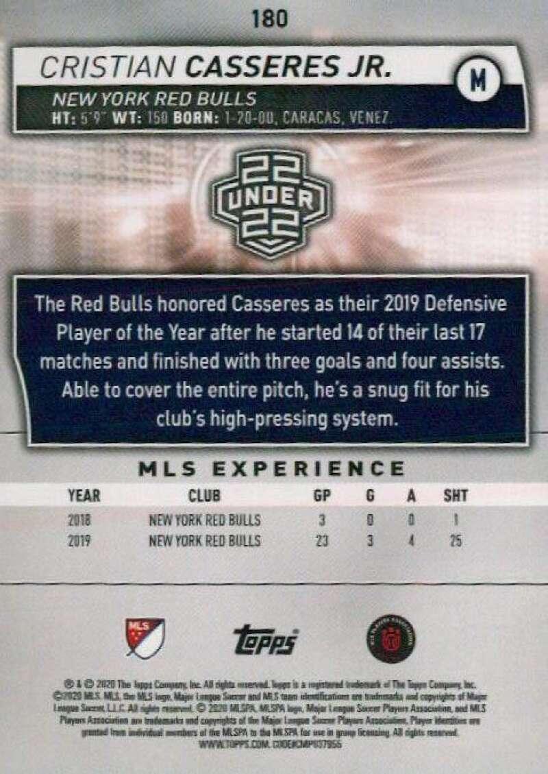 thumbnail 360 - 2020 Topps MLS Soccer Base Singles (Pick Your Cards)