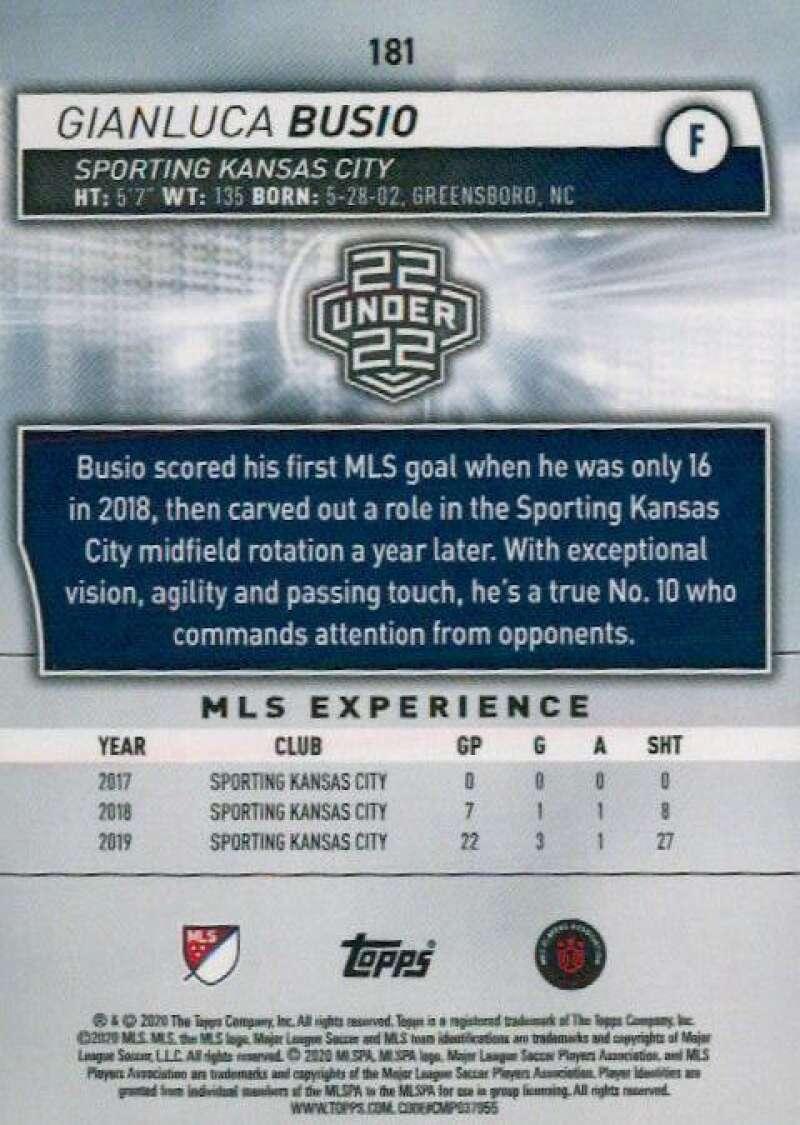 thumbnail 362 - 2020 Topps MLS Soccer Base Singles (Pick Your Cards)