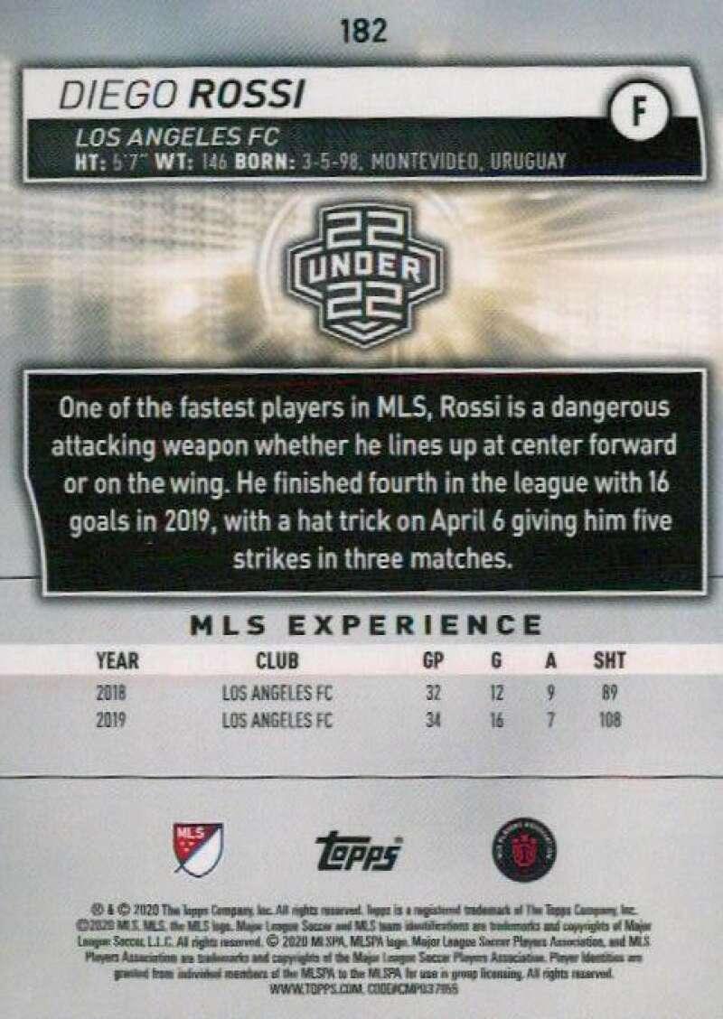 thumbnail 364 - 2020 Topps MLS Soccer Base Singles (Pick Your Cards)