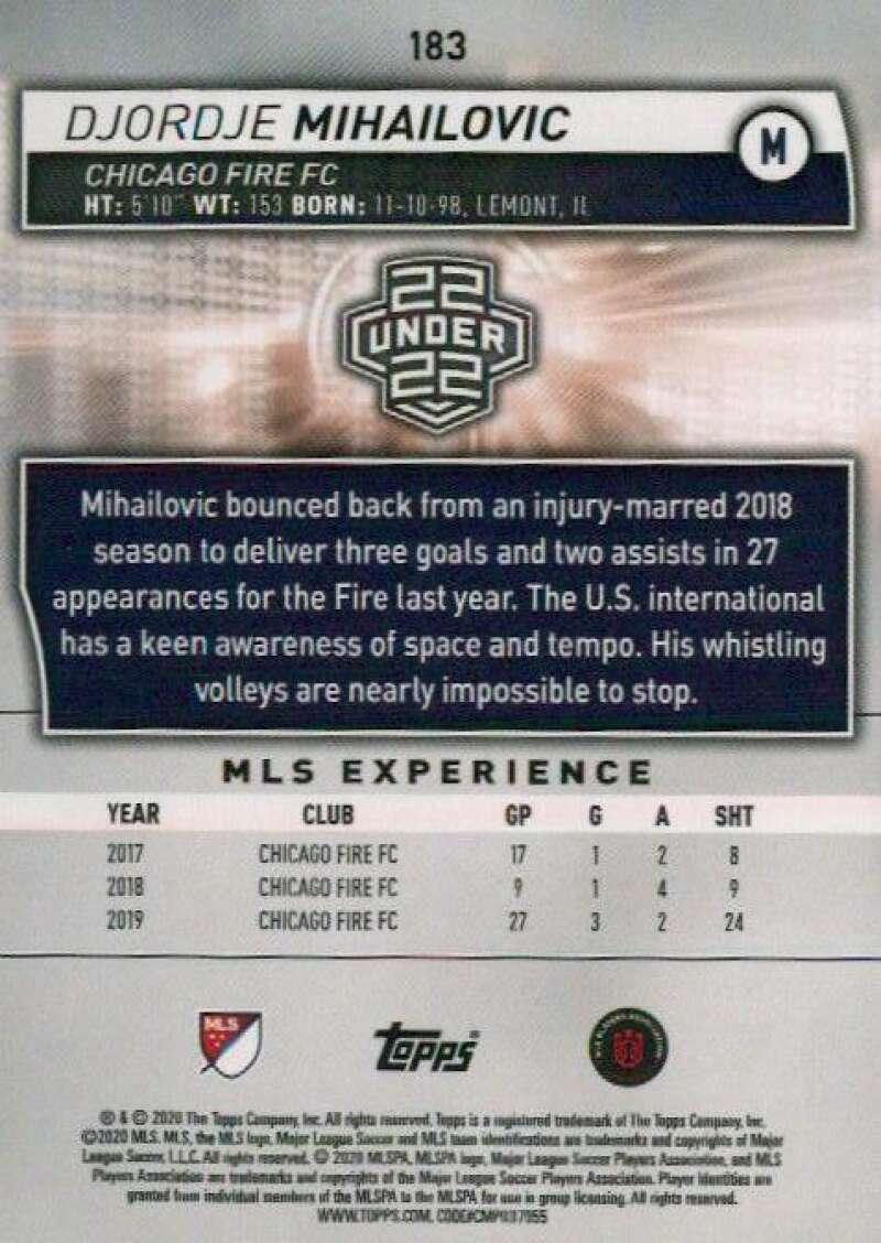 thumbnail 366 - 2020 Topps MLS Soccer Base Singles (Pick Your Cards)