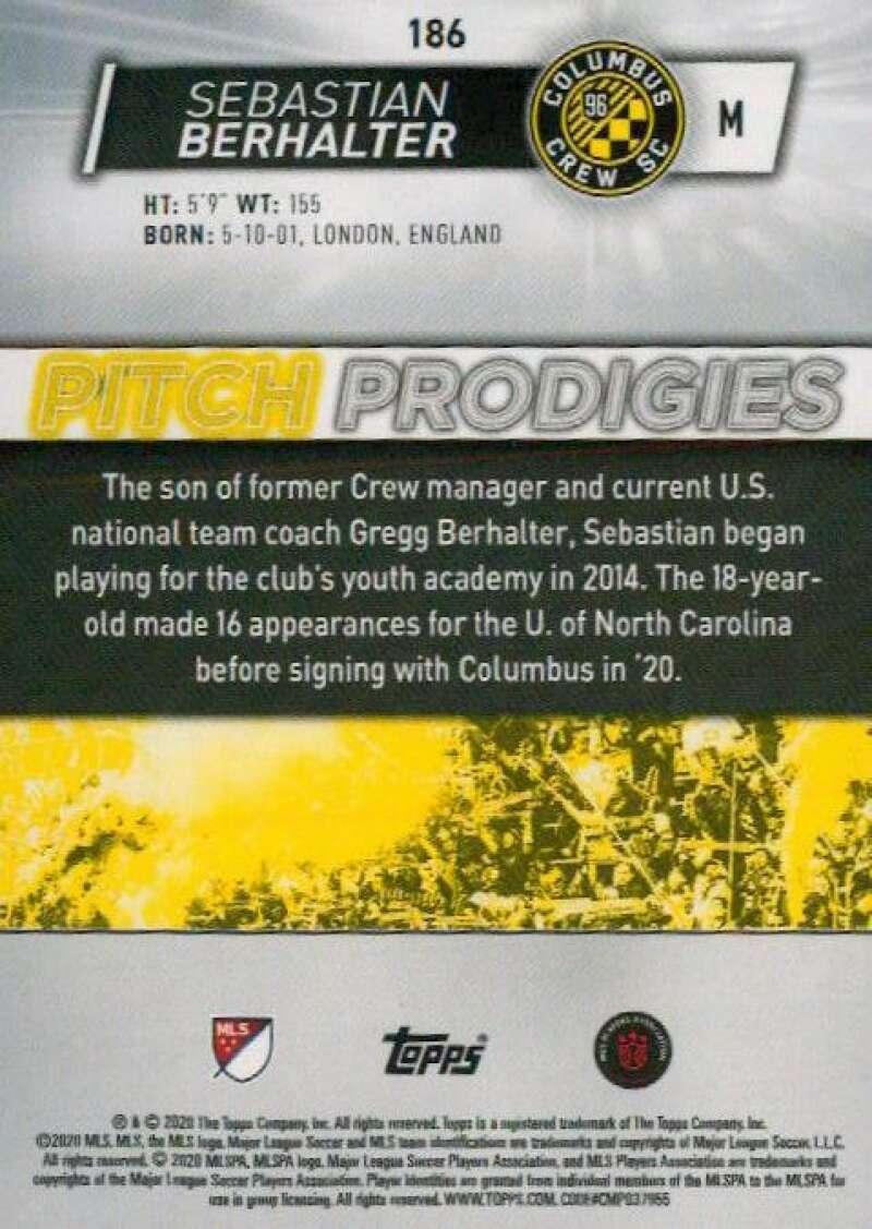 thumbnail 372 - 2020 Topps MLS Soccer Base Singles (Pick Your Cards)