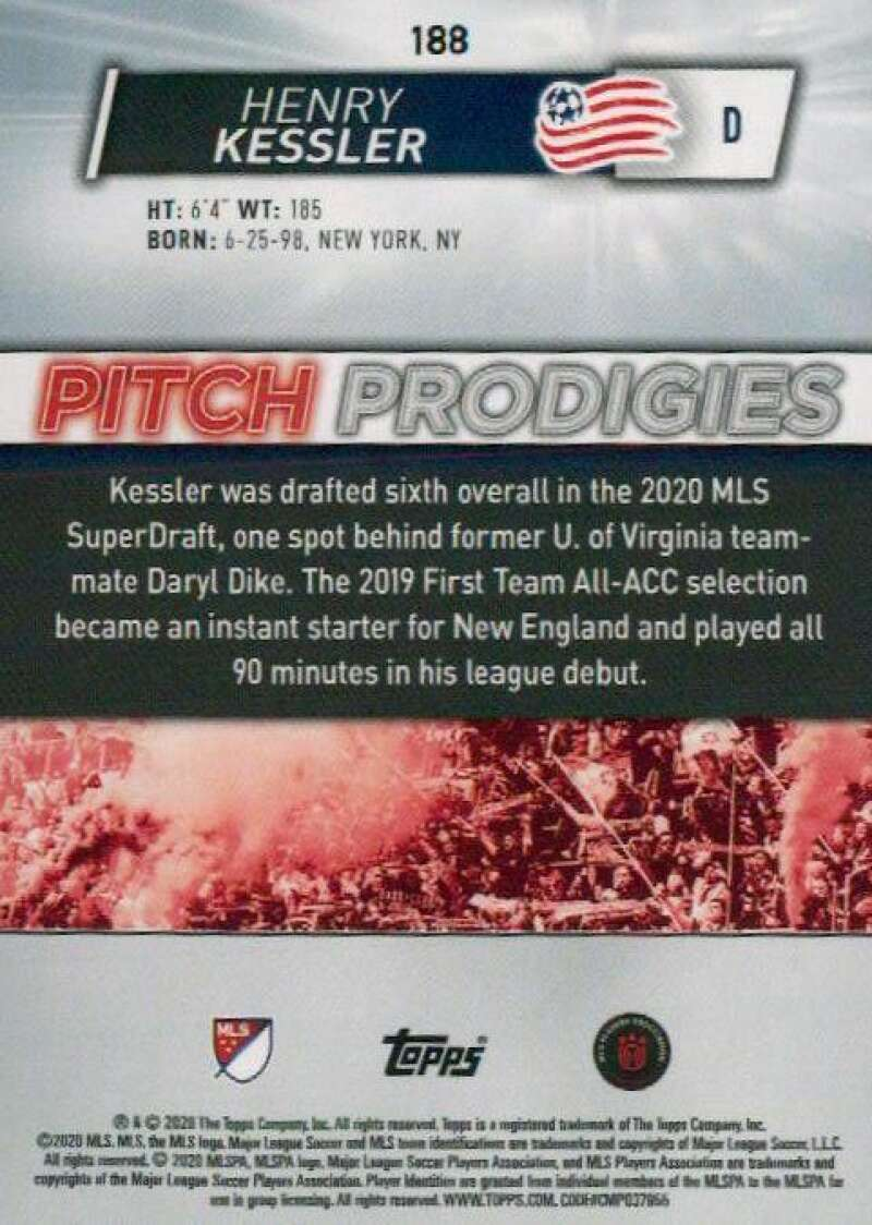 thumbnail 376 - 2020 Topps MLS Soccer Base Singles (Pick Your Cards)