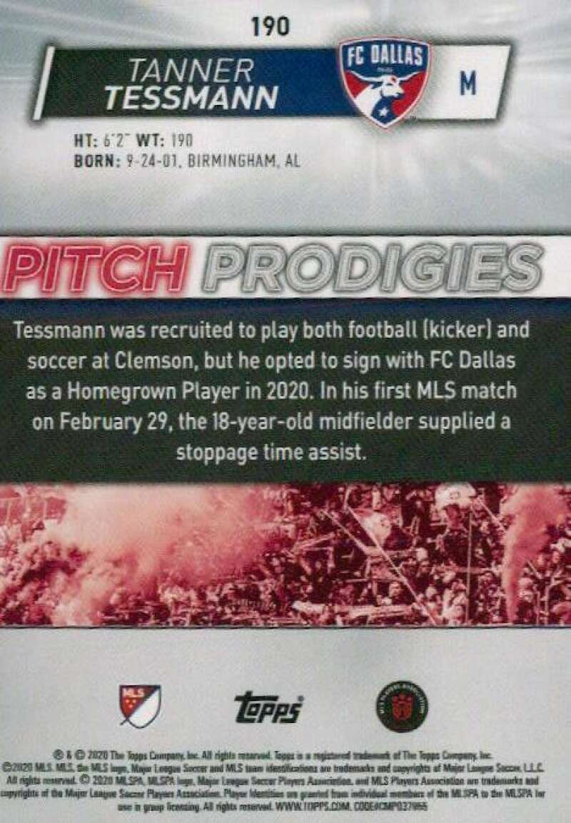 thumbnail 380 - 2020 Topps MLS Soccer Base Singles (Pick Your Cards)