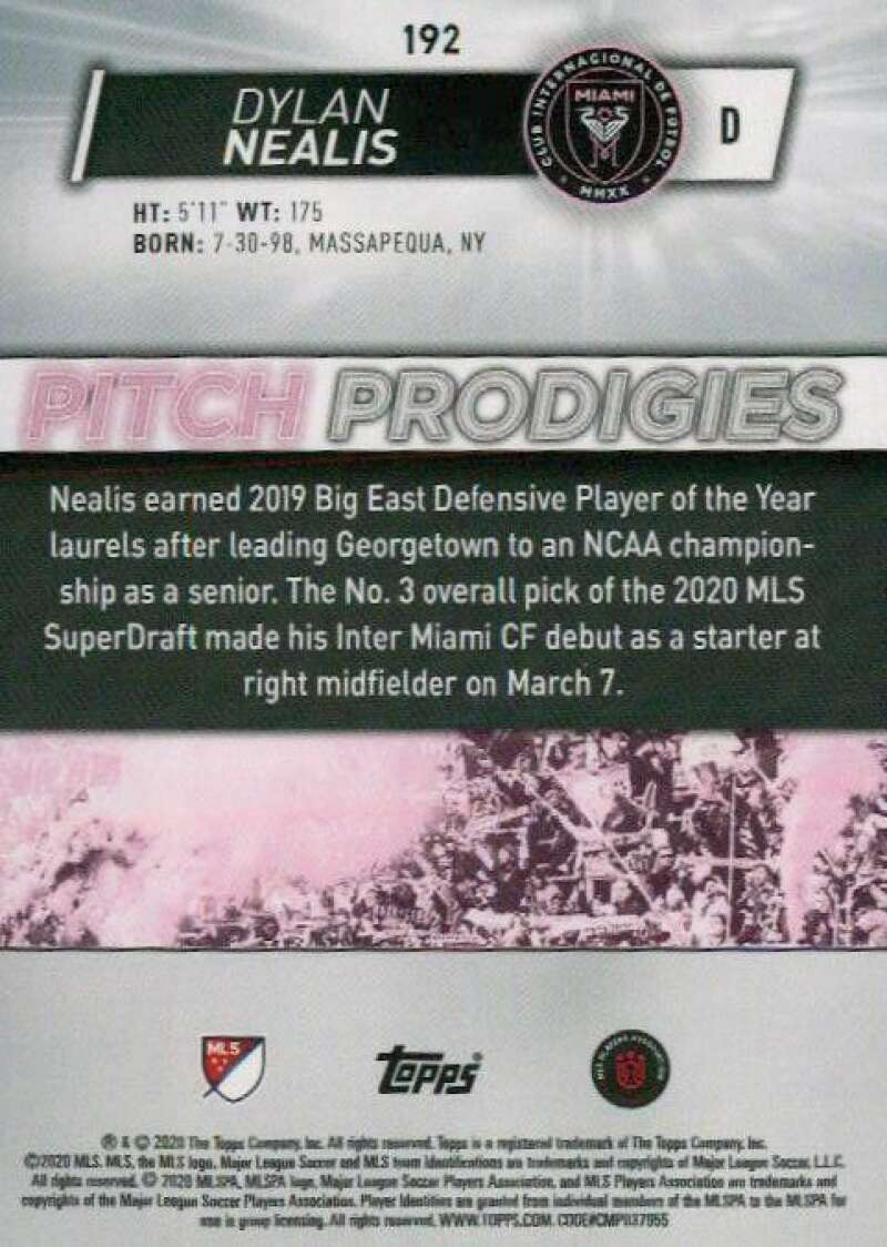 thumbnail 384 - 2020 Topps MLS Soccer Base Singles (Pick Your Cards)