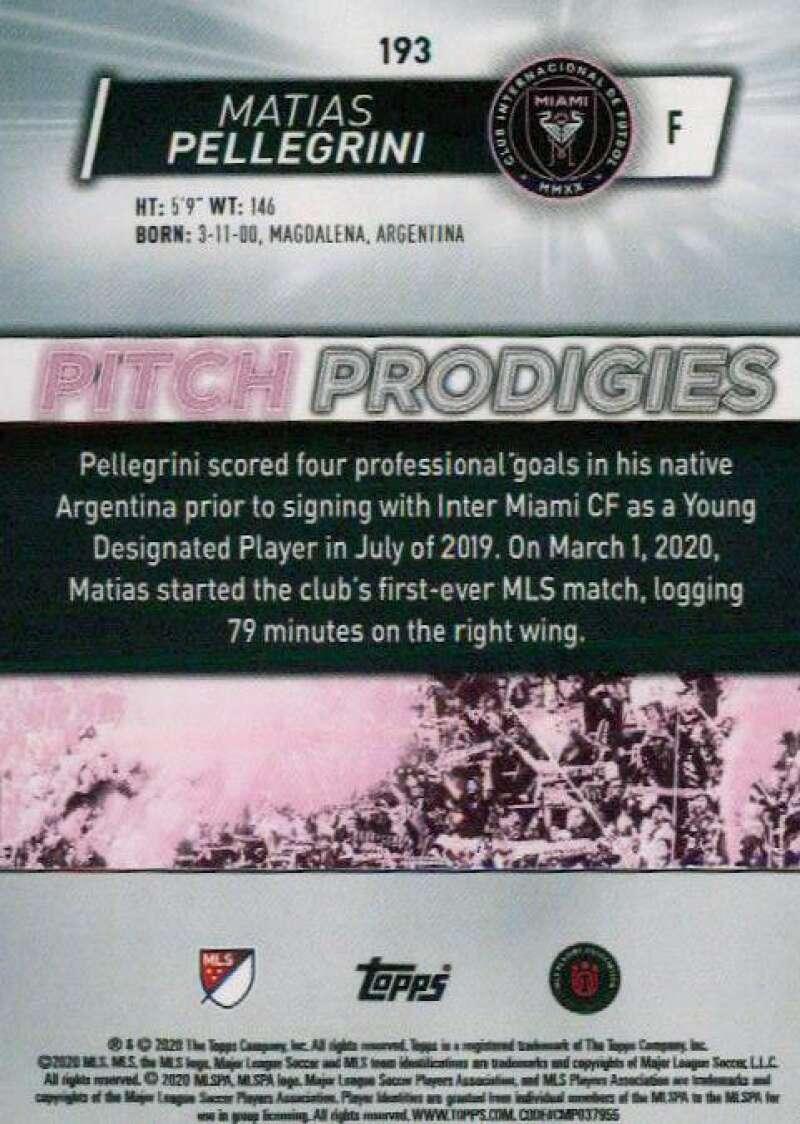 thumbnail 386 - 2020 Topps MLS Soccer Base Singles (Pick Your Cards)