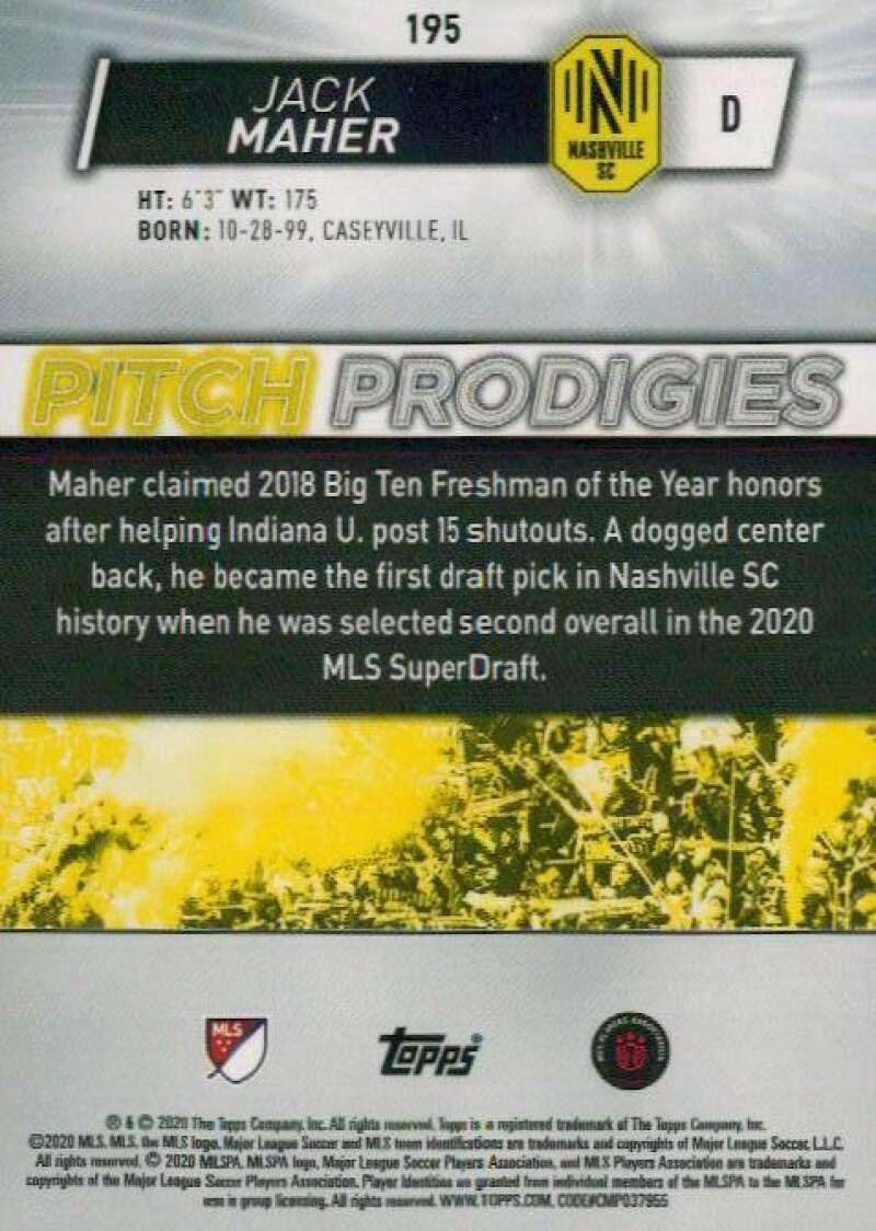 thumbnail 390 - 2020 Topps MLS Soccer Base Singles (Pick Your Cards)