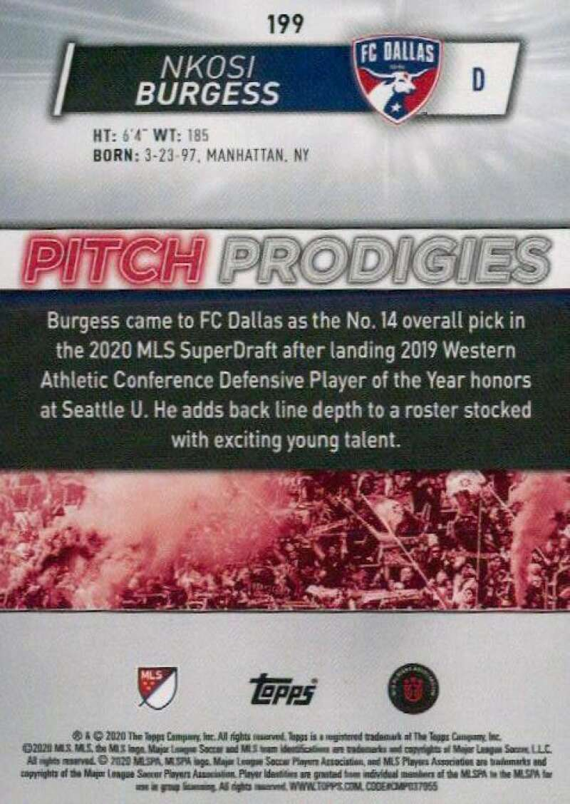 thumbnail 398 - 2020 Topps MLS Soccer Base Singles (Pick Your Cards)