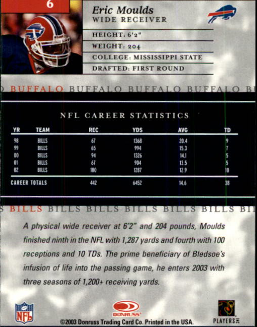 2003-Donruss-Elite-Football-Base-Singles-Pick-Your-Cards thumbnail 13