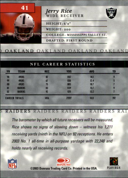 2003-Donruss-Elite-Football-Base-Singles-Pick-Your-Cards thumbnail 79