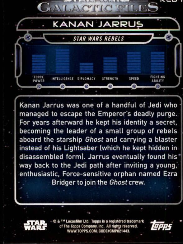 Star Wars Galactic Files Reborn Blue Parallel Base Card ROTJ-10 Gamorrean Guard