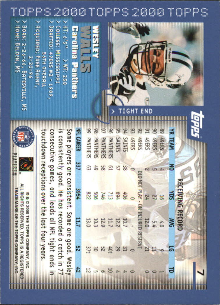 2000-Topps-Football-Base-Singles-3-299-Pick-Your-Cards thumbnail 9