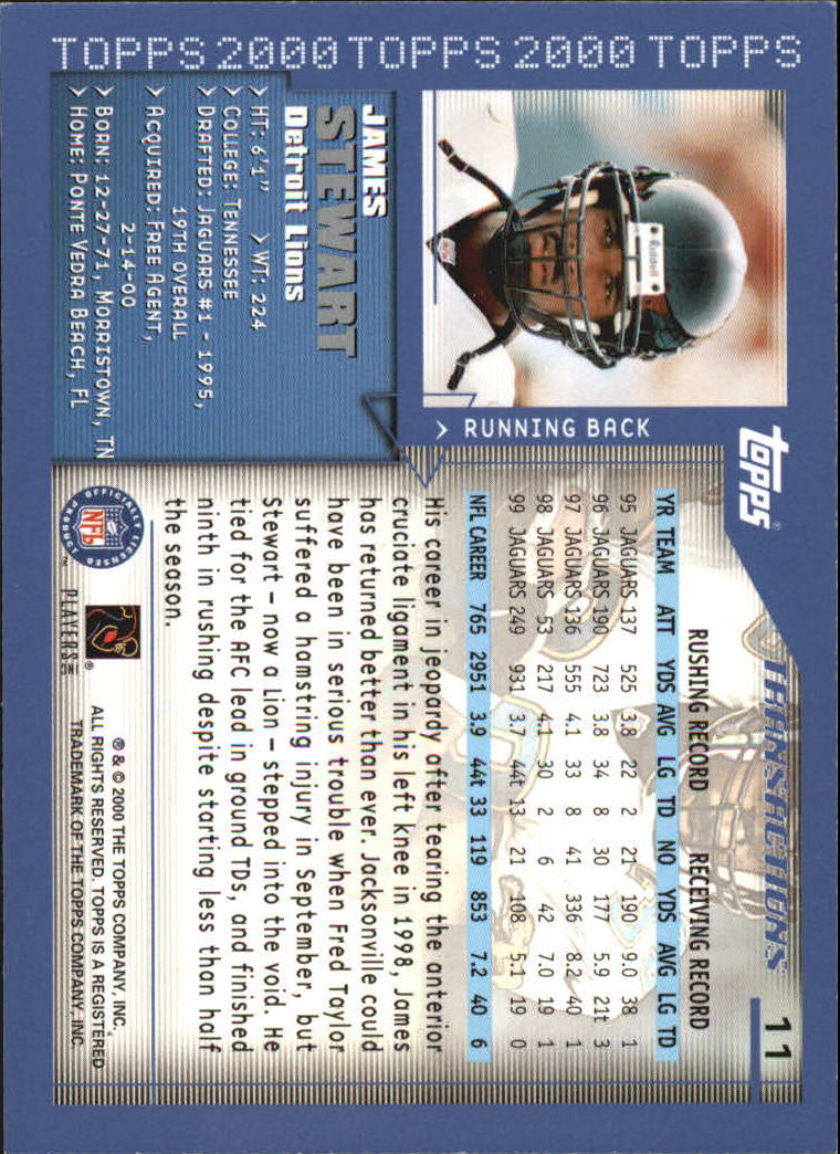 2000-Topps-Football-Base-Singles-3-299-Pick-Your-Cards thumbnail 11