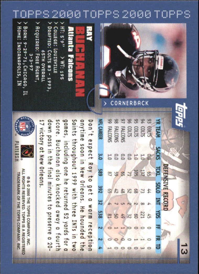 2000-Topps-Football-Base-Singles-3-299-Pick-Your-Cards thumbnail 15