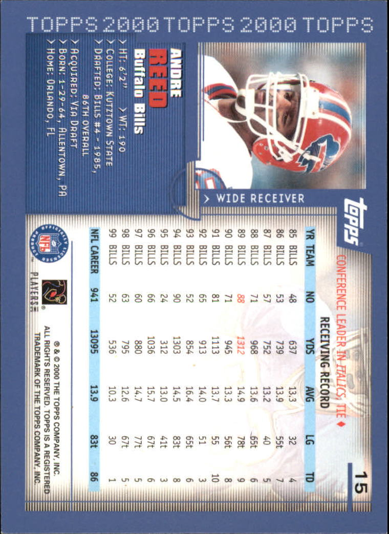 2000-Topps-Football-Base-Singles-3-299-Pick-Your-Cards thumbnail 17
