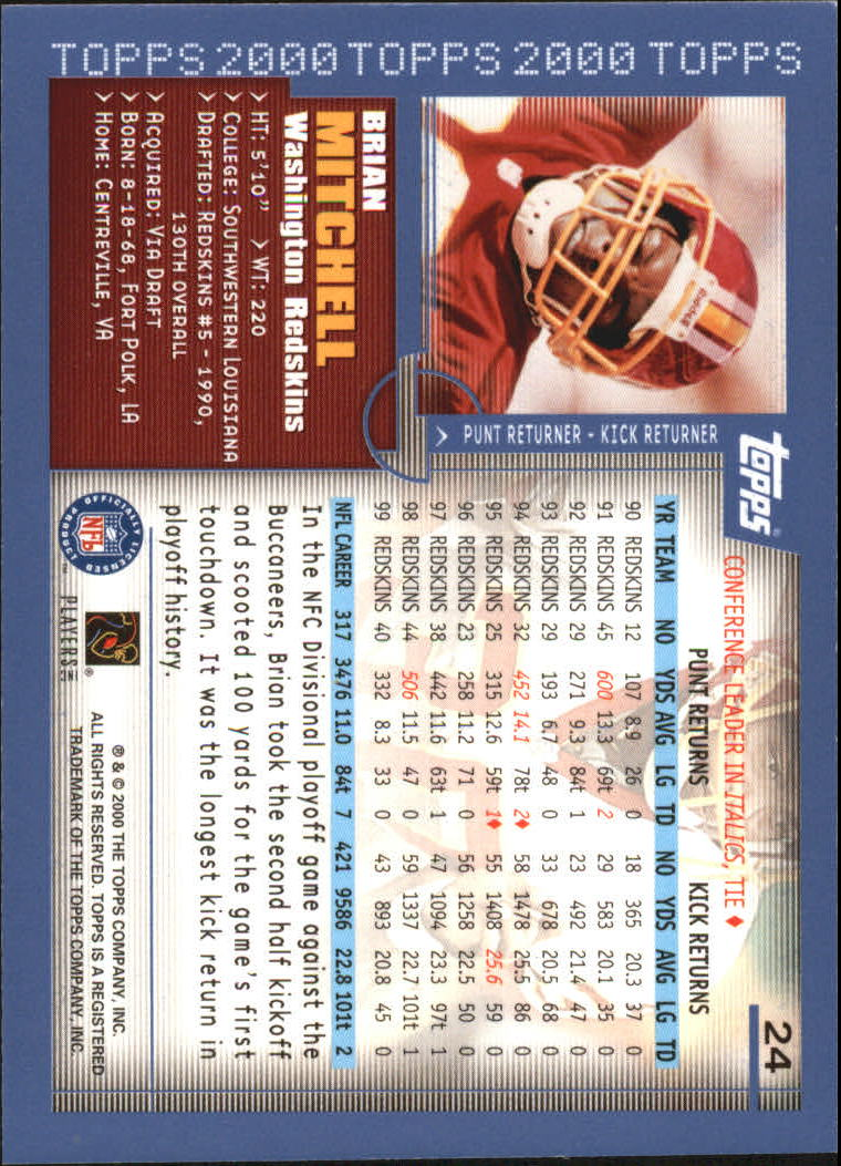 2000-Topps-Football-Base-Singles-3-299-Pick-Your-Cards thumbnail 27