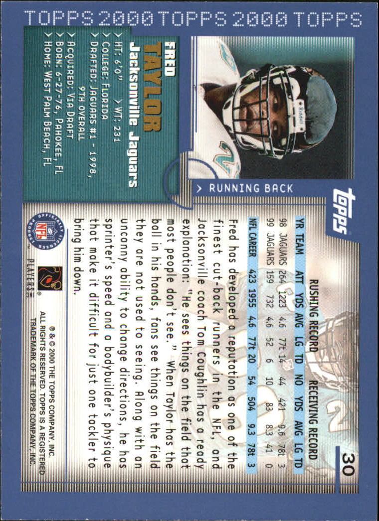 2000-Topps-Football-Base-Singles-3-299-Pick-Your-Cards thumbnail 37