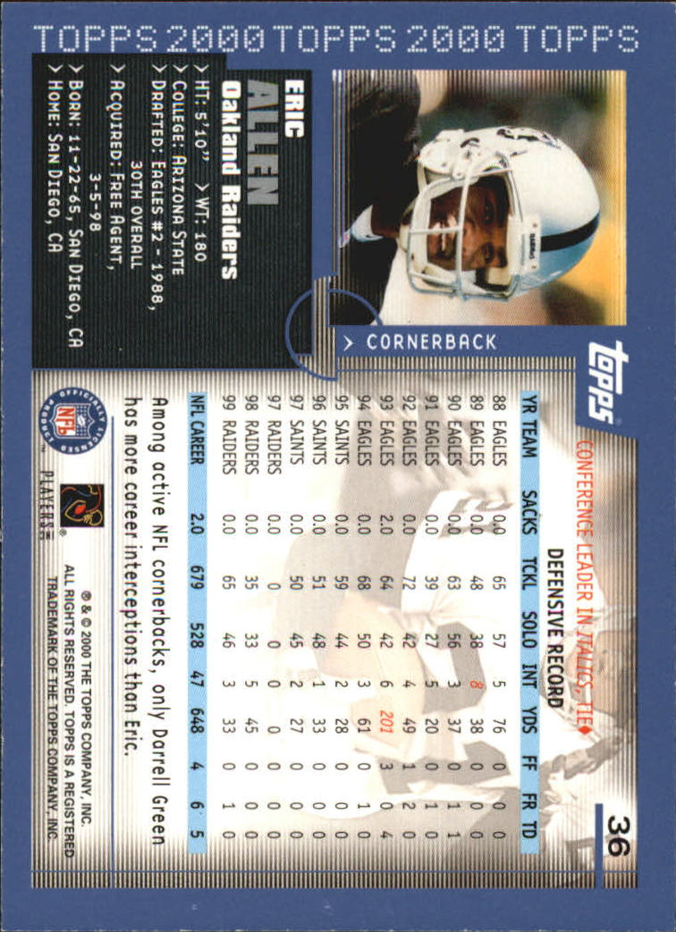 2000-Topps-Football-Base-Singles-3-299-Pick-Your-Cards thumbnail 45