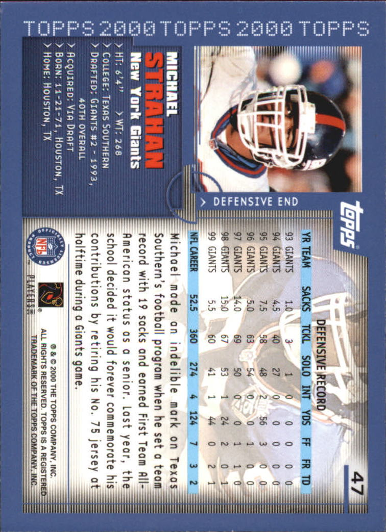 2000-Topps-Football-Base-Singles-3-299-Pick-Your-Cards thumbnail 57