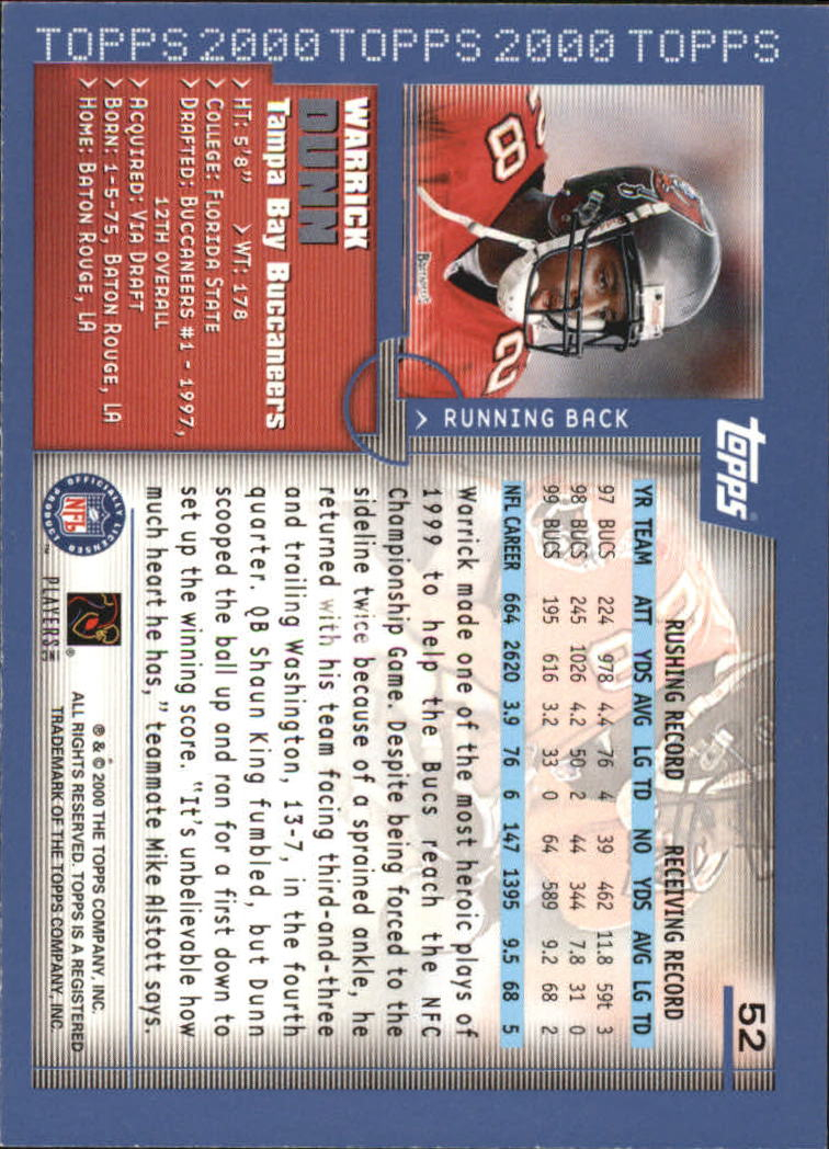 2000-Topps-Football-Base-Singles-3-299-Pick-Your-Cards thumbnail 61