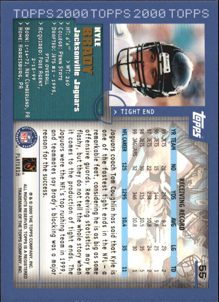 2000-Topps-Football-Base-Singles-3-299-Pick-Your-Cards thumbnail 63
