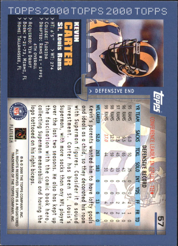 2000-Topps-Football-Base-Singles-3-299-Pick-Your-Cards thumbnail 67
