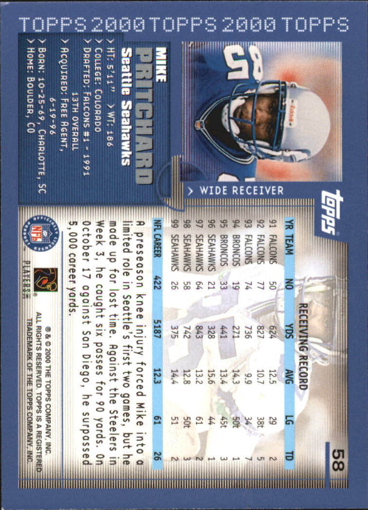 2000-Topps-Football-Base-Singles-3-299-Pick-Your-Cards thumbnail 69