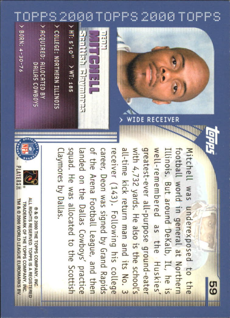 2000-Topps-Football-Base-Singles-3-299-Pick-Your-Cards thumbnail 71