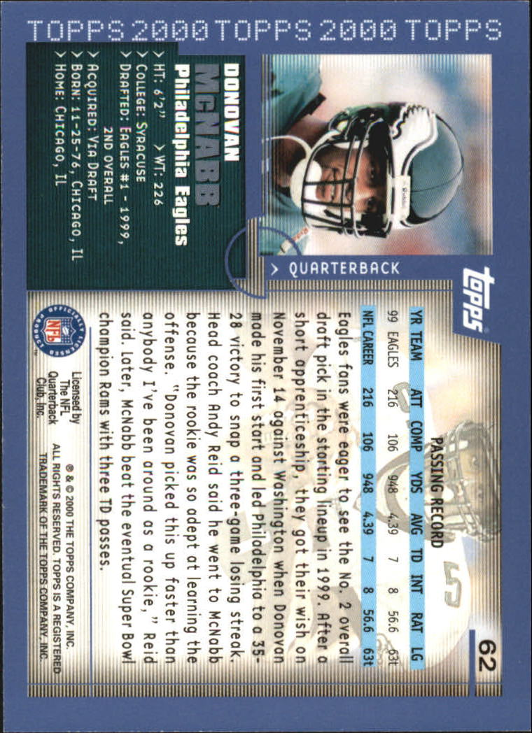 2000-Topps-Football-Base-Singles-3-299-Pick-Your-Cards thumbnail 75