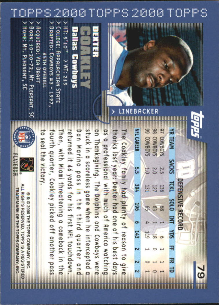2000-Topps-Football-Base-Singles-3-299-Pick-Your-Cards thumbnail 97