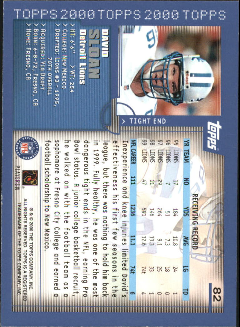 2000-Topps-Football-Base-Singles-3-299-Pick-Your-Cards thumbnail 99