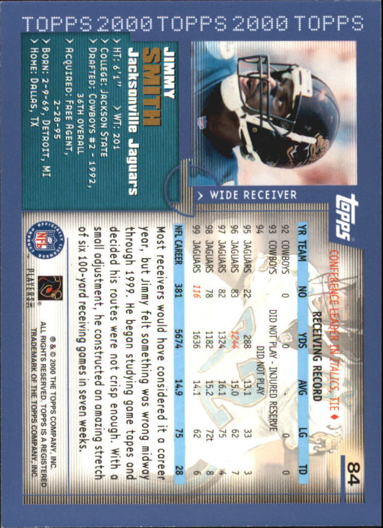 2000-Topps-Football-Base-Singles-3-299-Pick-Your-Cards thumbnail 103