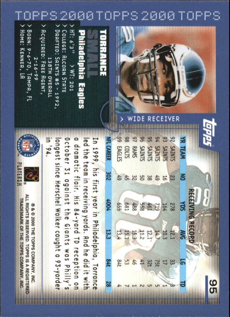 2000-Topps-Football-Base-Singles-3-299-Pick-Your-Cards thumbnail 121