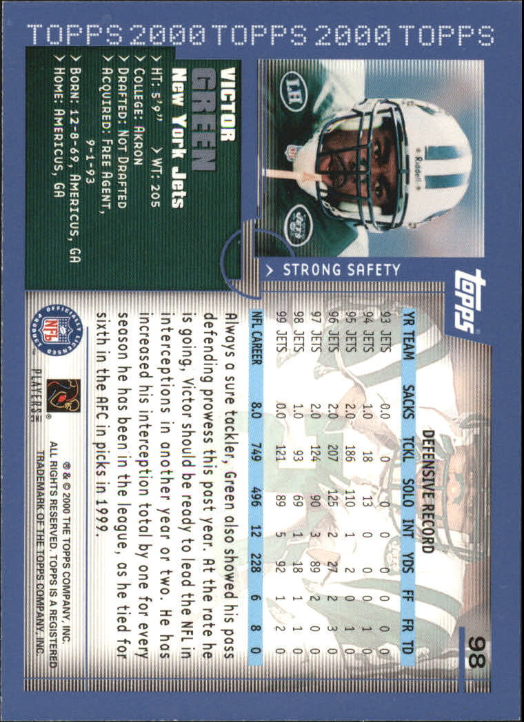 2000-Topps-Football-Base-Singles-3-299-Pick-Your-Cards thumbnail 127