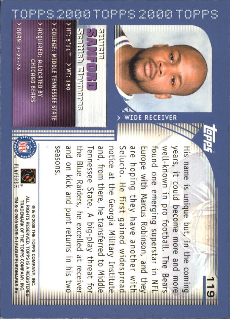 2000-Topps-Football-Base-Singles-3-299-Pick-Your-Cards thumbnail 149