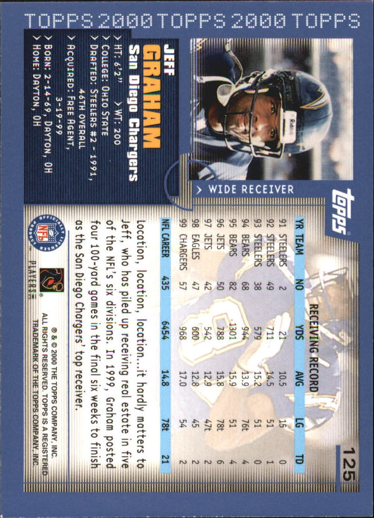 2000-Topps-Football-Base-Singles-3-299-Pick-Your-Cards thumbnail 159