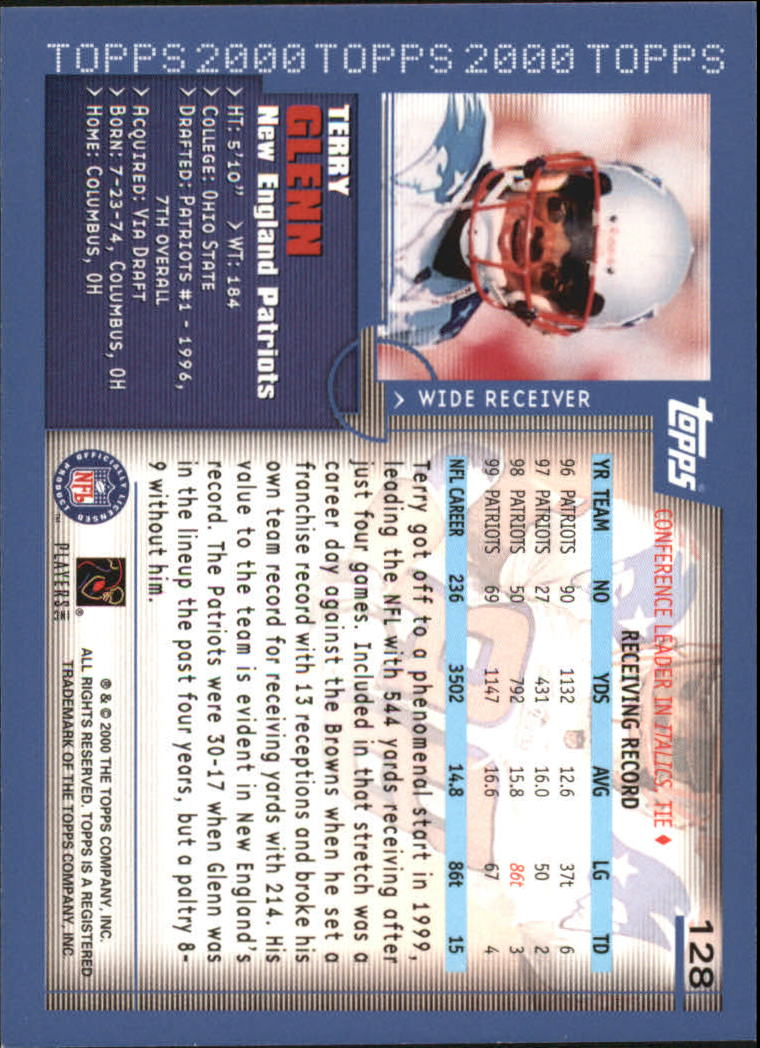2000-Topps-Football-Base-Singles-3-299-Pick-Your-Cards thumbnail 165