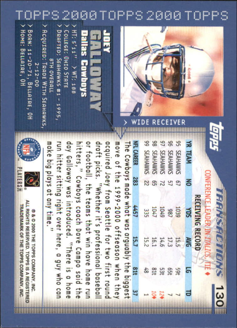 2000-Topps-Football-Base-Singles-3-299-Pick-Your-Cards thumbnail 169