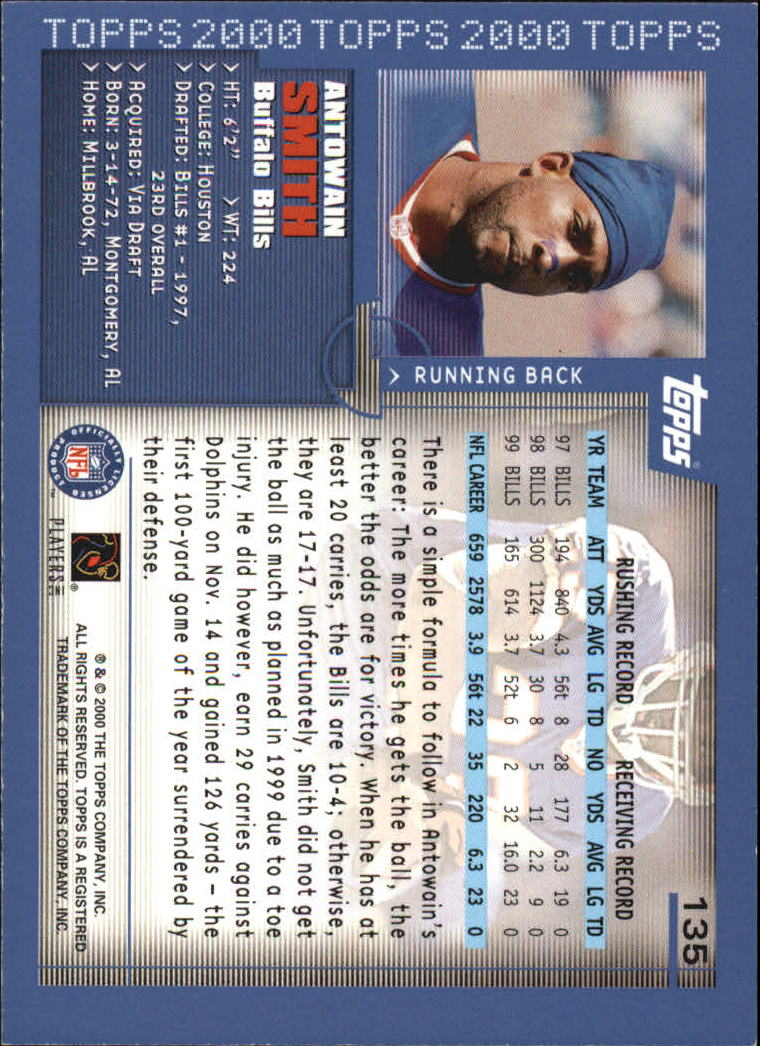 2000-Topps-Football-Base-Singles-3-299-Pick-Your-Cards thumbnail 175