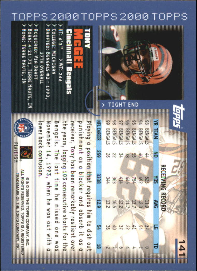 2000-Topps-Football-Base-Singles-3-299-Pick-Your-Cards thumbnail 183