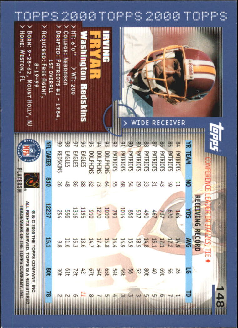 2000-Topps-Football-Base-Singles-3-299-Pick-Your-Cards thumbnail 193