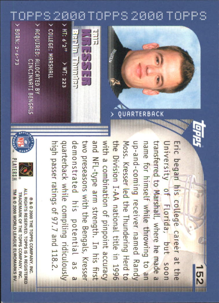 2000-Topps-Football-Base-Singles-3-299-Pick-Your-Cards thumbnail 199