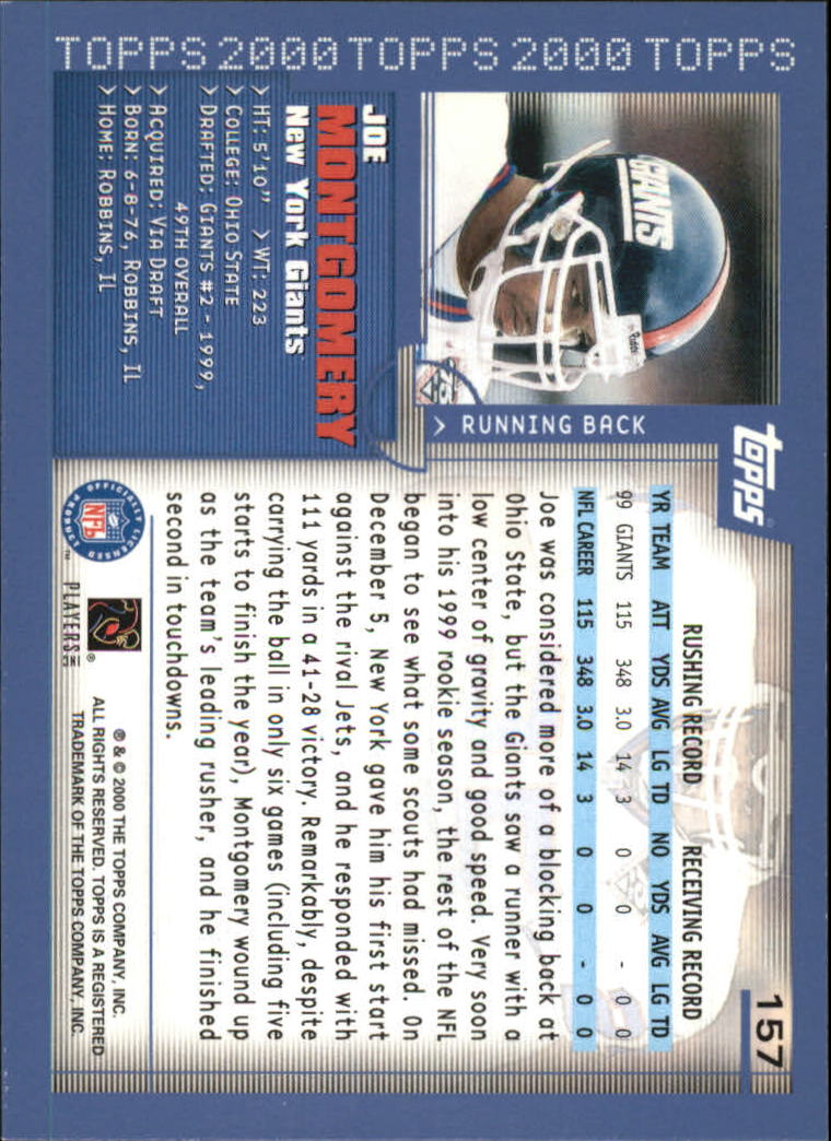 2000-Topps-Football-Base-Singles-3-299-Pick-Your-Cards thumbnail 207