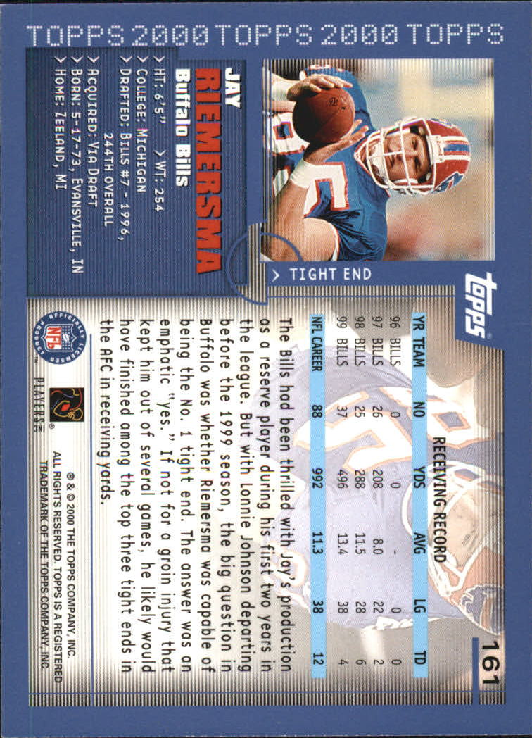 2000-Topps-Football-Base-Singles-3-299-Pick-Your-Cards thumbnail 211