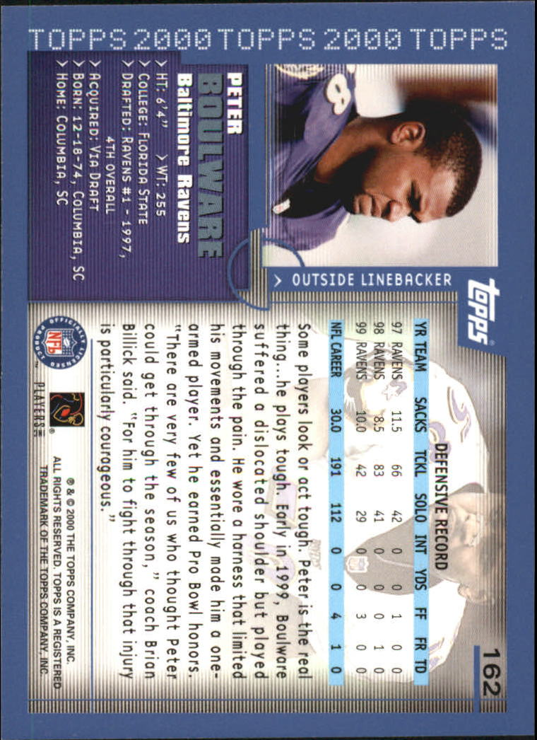 2000-Topps-Football-Base-Singles-3-299-Pick-Your-Cards thumbnail 213