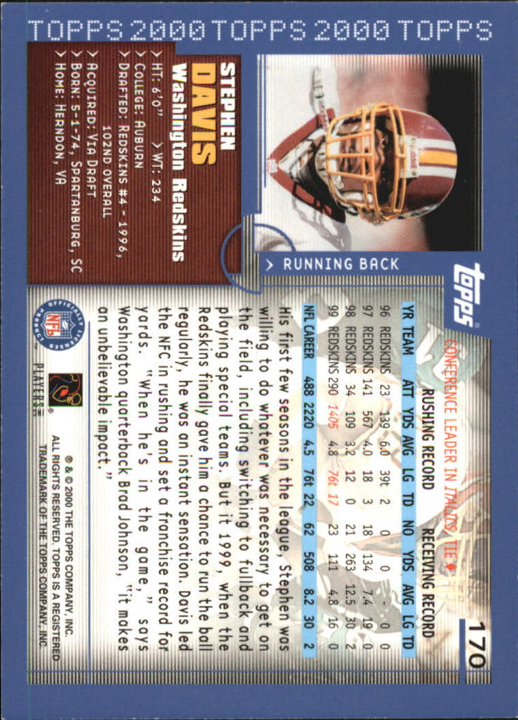 2000-Topps-Football-Base-Singles-3-299-Pick-Your-Cards thumbnail 225