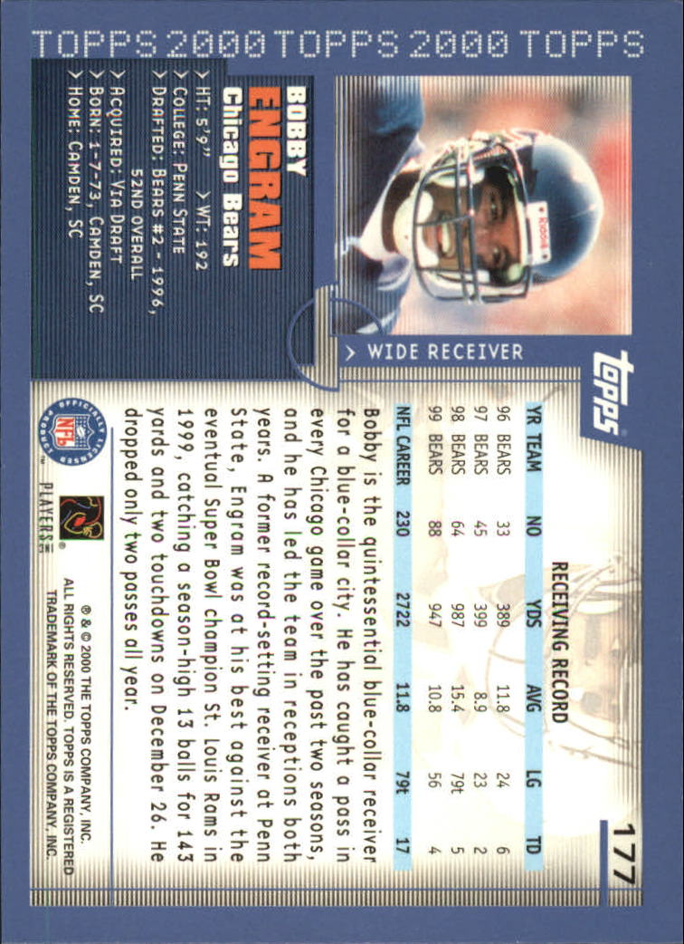 2000-Topps-Football-Base-Singles-3-299-Pick-Your-Cards thumbnail 233