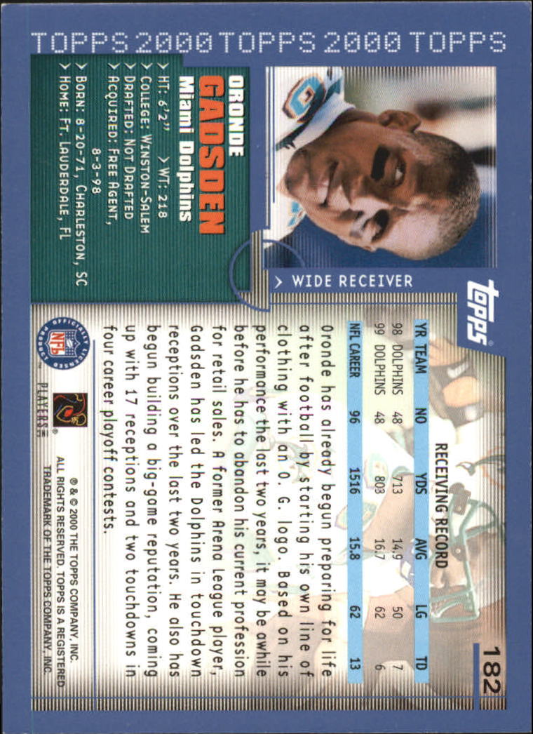 2000-Topps-Football-Base-Singles-3-299-Pick-Your-Cards thumbnail 243
