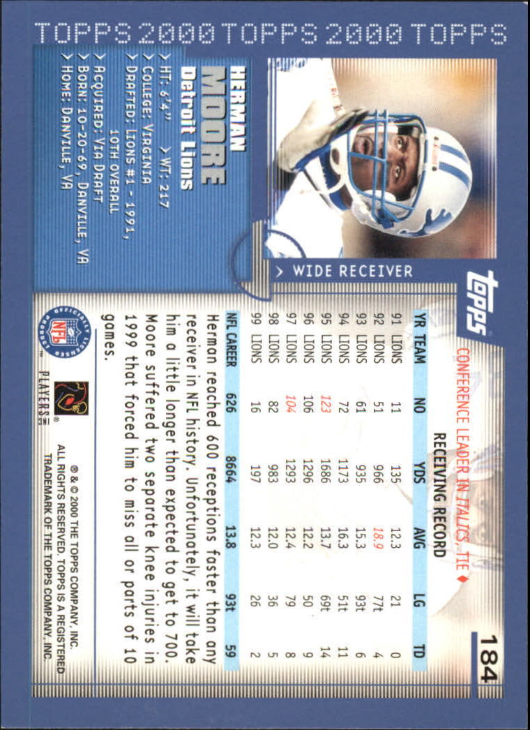 2000-Topps-Football-Base-Singles-3-299-Pick-Your-Cards thumbnail 247