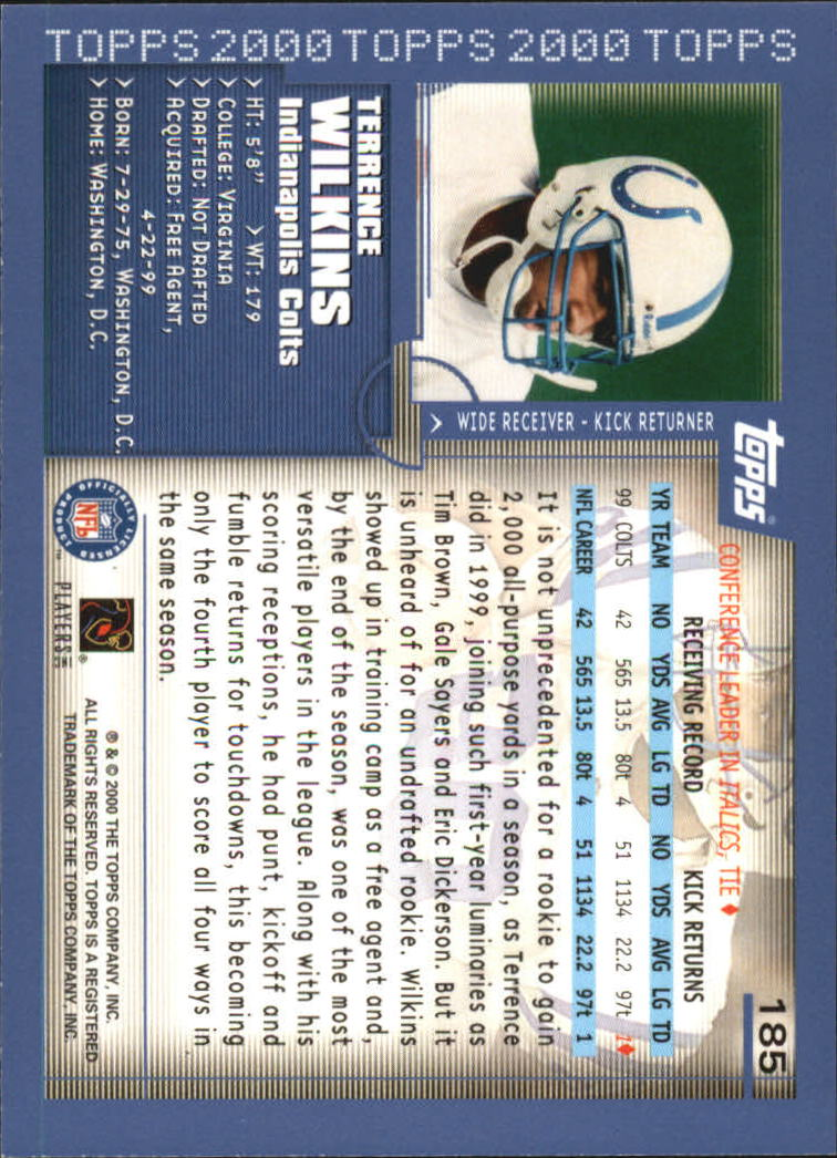 2000-Topps-Football-Base-Singles-3-299-Pick-Your-Cards thumbnail 249