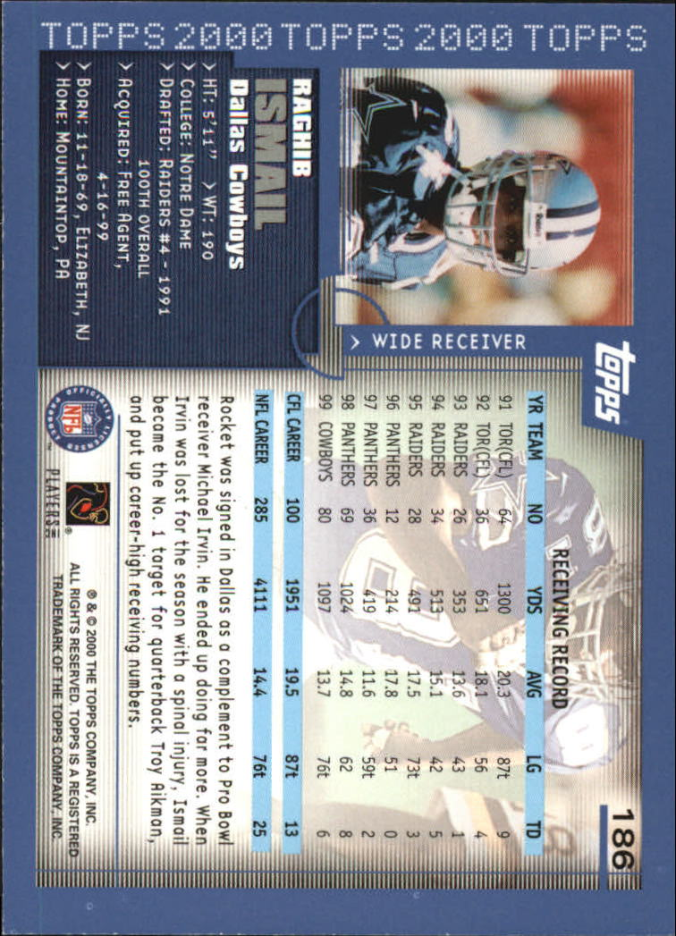 2000-Topps-Football-Base-Singles-3-299-Pick-Your-Cards thumbnail 251